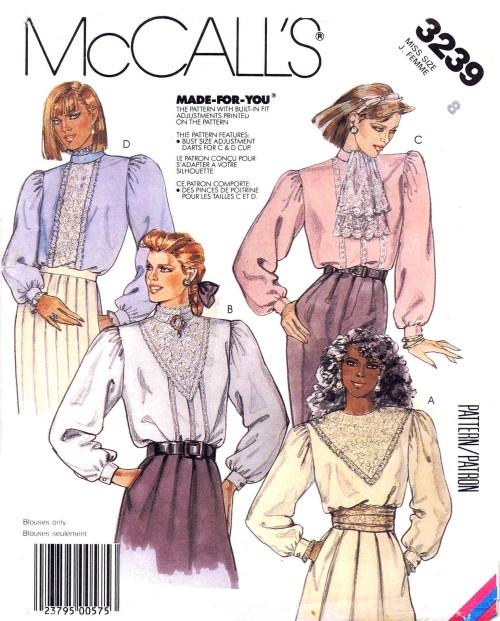 McCalls 1987 3239