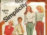 Simplicity 5205 A