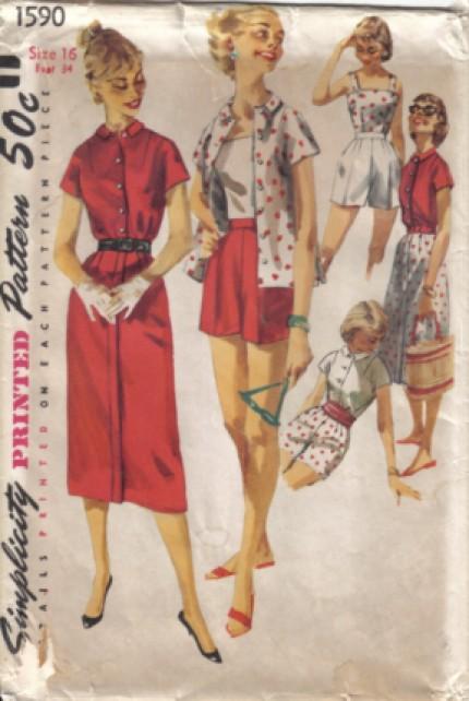 Simplicity 1956 1590 F