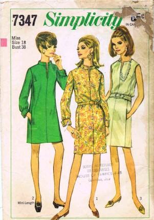 Simplicity 1967 7347