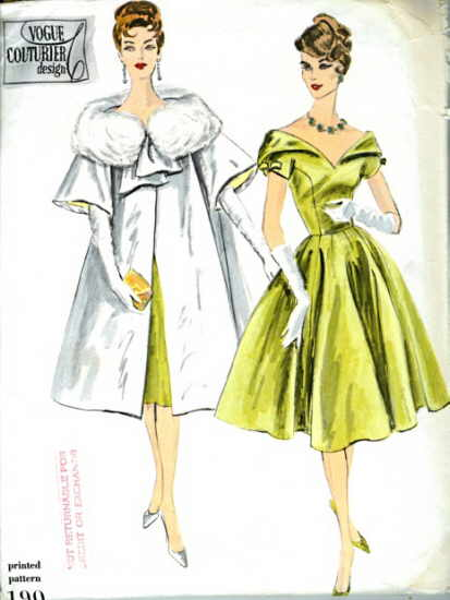 Vogue 190 | Vintage Sewing Patterns | FANDOM powered by Wikia