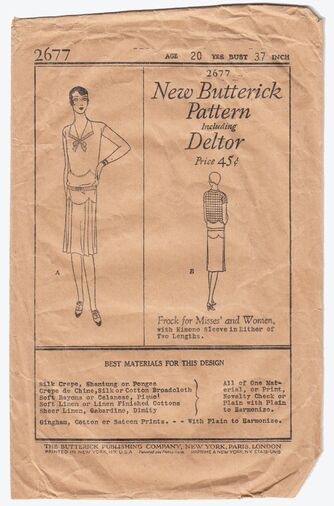 Butterick 2677