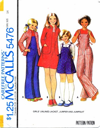 McCalls 1977 5476
