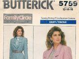 Butterick 5759 B