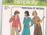 Simplicity 7801 A