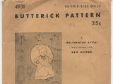 Butterick 4931 B
