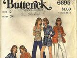 Butterick 6695 A