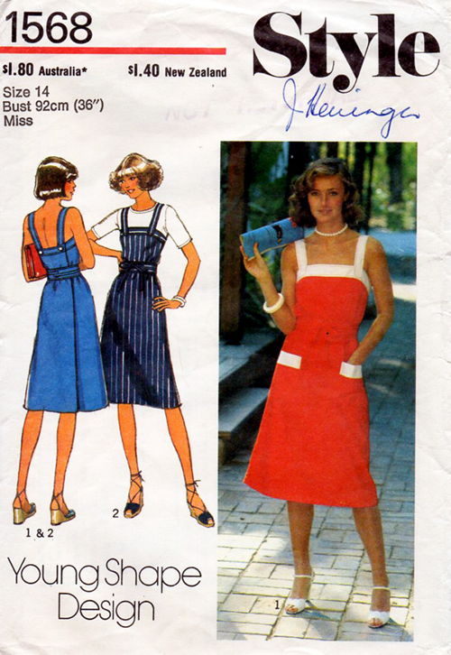Style 1568 A | Vintage Sewing Patterns | FANDOM powered by Wikia