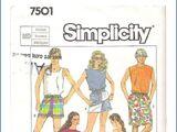 Simplicity 7501 A