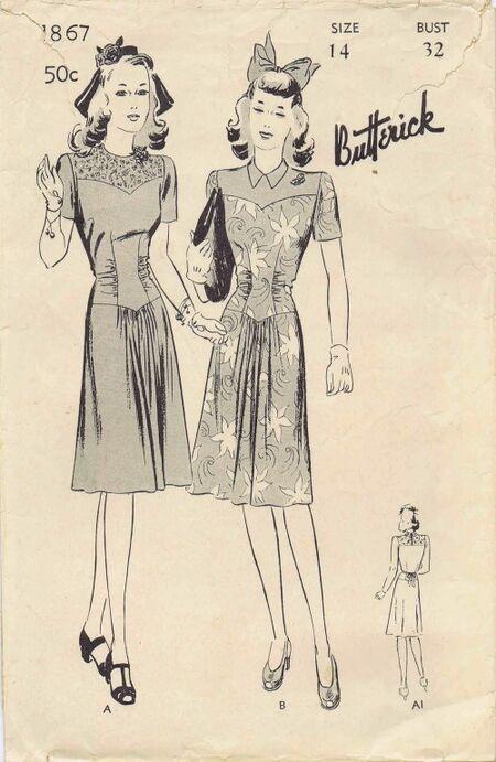 Butterick 1942 1867