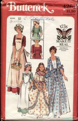 Butterick 4261 costume