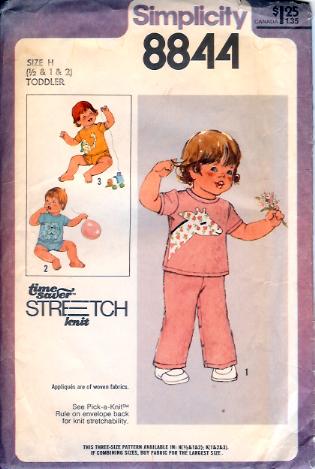 8844S 1978 Toddler