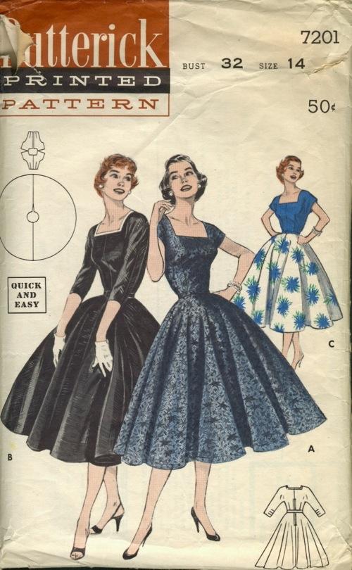 Butterick 7201 Vintage Sewing Patterns Fandom Powered