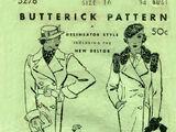 Butterick 5276 A
