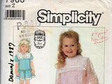 Simplicity 7988 A