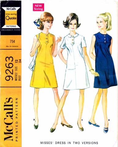 McCalls 1968 9263