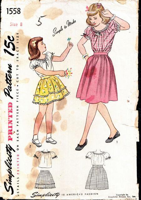 Penelope Rose vintage patterns on Artfire