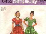 Simplicity 6452