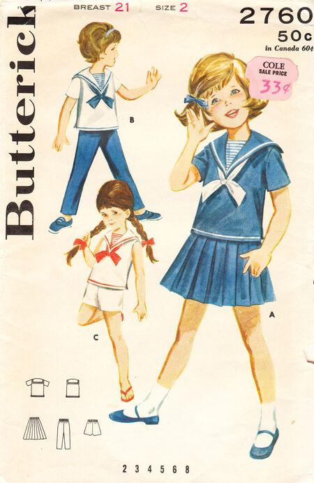 Butterick 2760