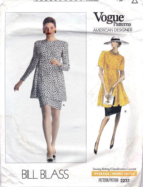Pattern - Vogue 2233 02