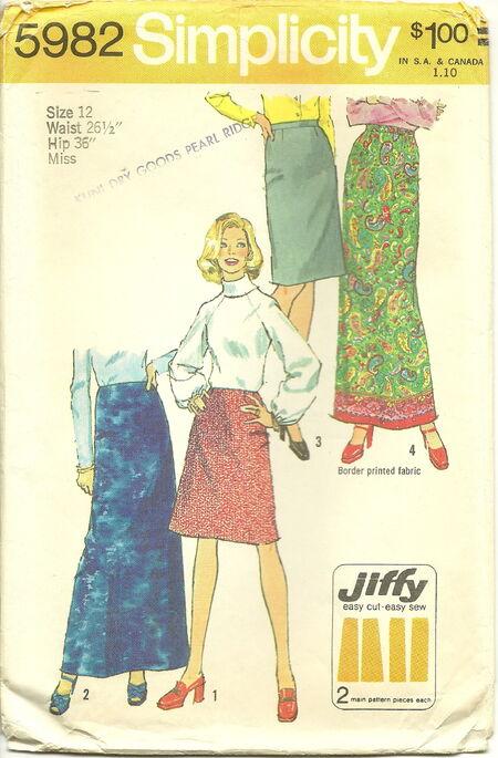 Simplicity 5982 Jiffy