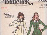 Butterick 3868 A