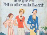 Beyers Modenblatt No. 7 Vol. 11 1932