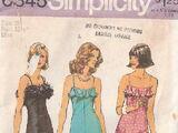 Simplicity 6345 A