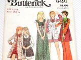 Butterick 6491 A