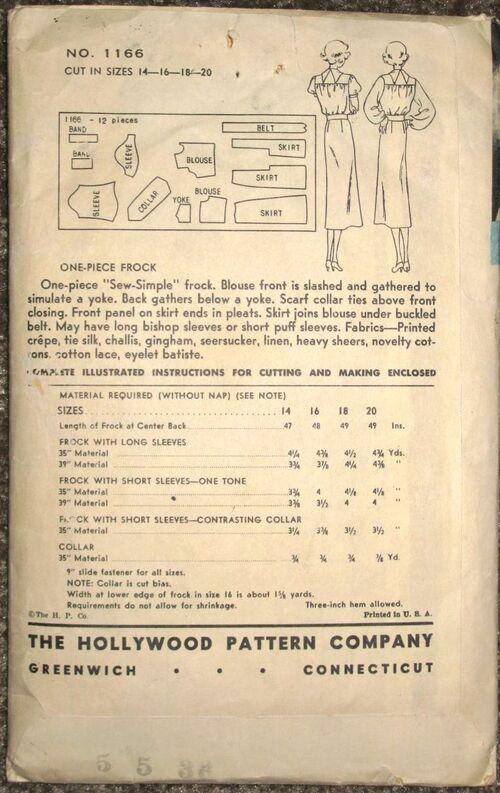 Hollywood 1166 back