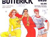 Butterick 6926 A