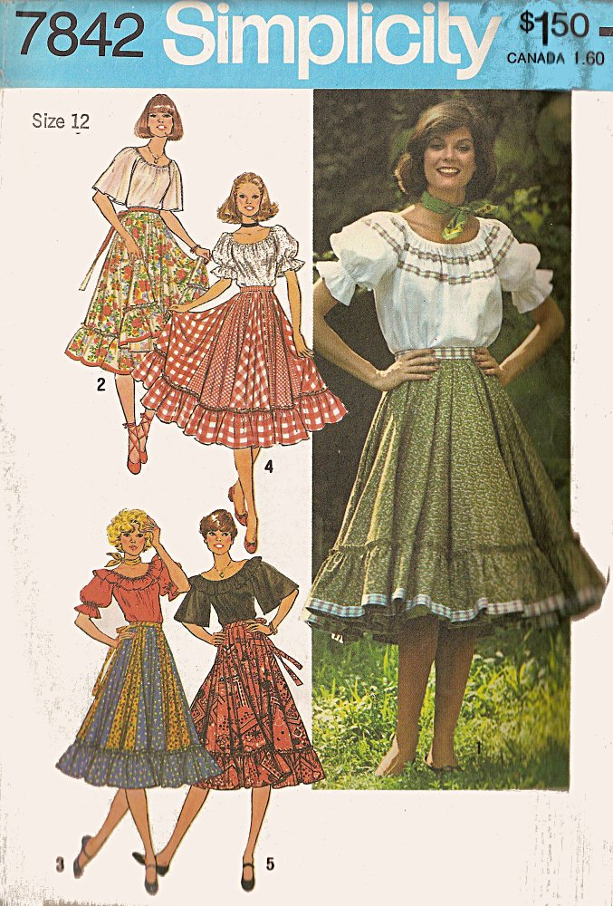 Simplicity 7842 | Vintage Sewing Patterns | FANDOM powered by Wikia