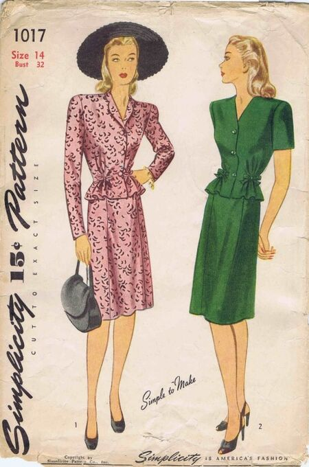 Simplicity 1944 1017