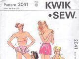 Kwik Sew 2041