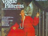 Vogue Patterns December 1972/January 1973