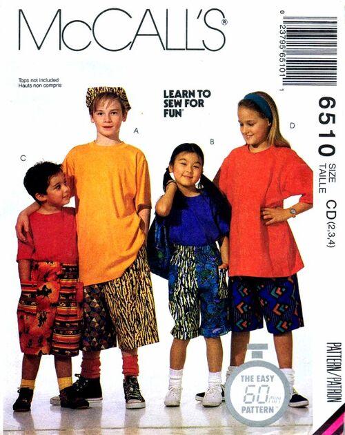 McCalls 1993 6510