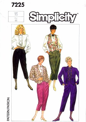 Simplicity 1985 7225
