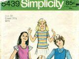 Simplicity 5439