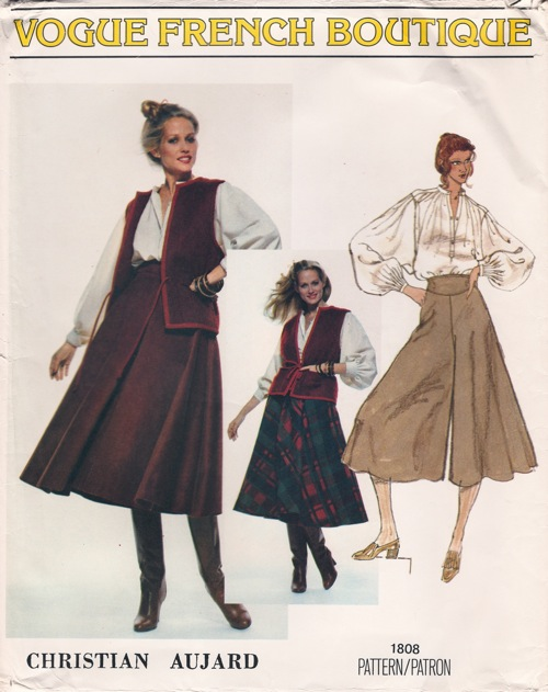 Vogue 1808 | Vintage Sewing Patterns | FANDOM powered by Wikia