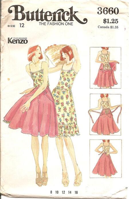 Butterick 3660 Kenzo A 500px