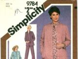 Simplicity 9784
