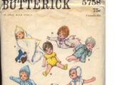 Butterick 5758 A