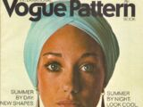 Vogue International Pattern Book June/July 1970