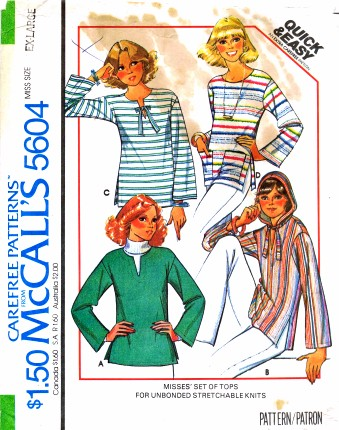 McCalls 1977 5604