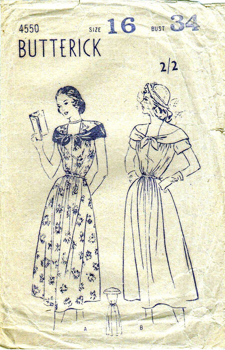 Pattern - Butterick 4550