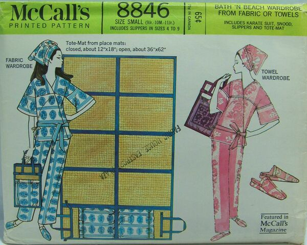 McCall's 8846 A | Vintage Sewing Patterns | FANDOM powered
