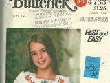 Butterick 4733
