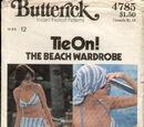 Butterick 4785 A