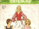 Simplicity 5415