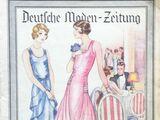 Deutsche Moden-Zeitung No. 9 Vol. 39 1929/30